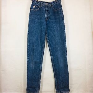 Vintage Guess High Waist Skinny Jeans